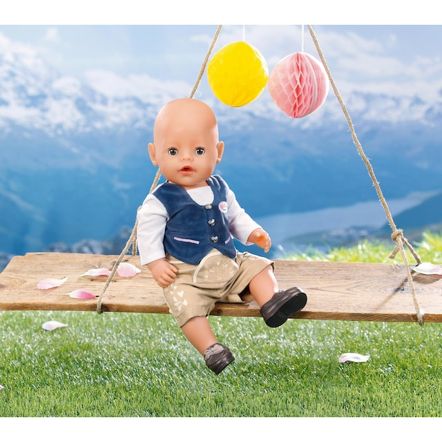 """Baby Born Puppenkleidung """"Trachten-Outfit Junge"""""""