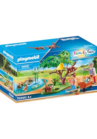 Playmobil® Konstruktions-Spielset »Kleine Pandas im Freigehege (70344), Family Fun«,... kaufen