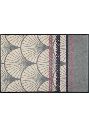 wash+dry by Kleen-Tex Fußmatte »Stile Floreale«, rechteckig, 7 mm Höhe,... kaufen