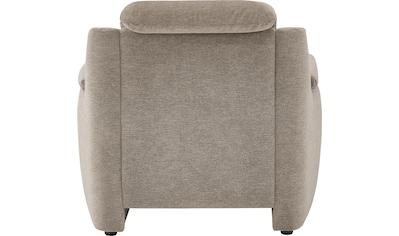 VILLA BECK Sessel »Garda«, inklusive Kopfteilverstellung, Breite: 98cm kaufen