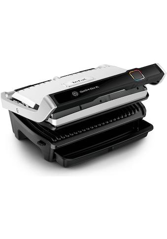 Tefal Kontaktgrill »GC760D Optigrill Elite XL«, 16 automatische Programme; Digital-Display; Countdown zum perfekten Grillergebnis; extra Grillboost für Grillstreifen kaufen