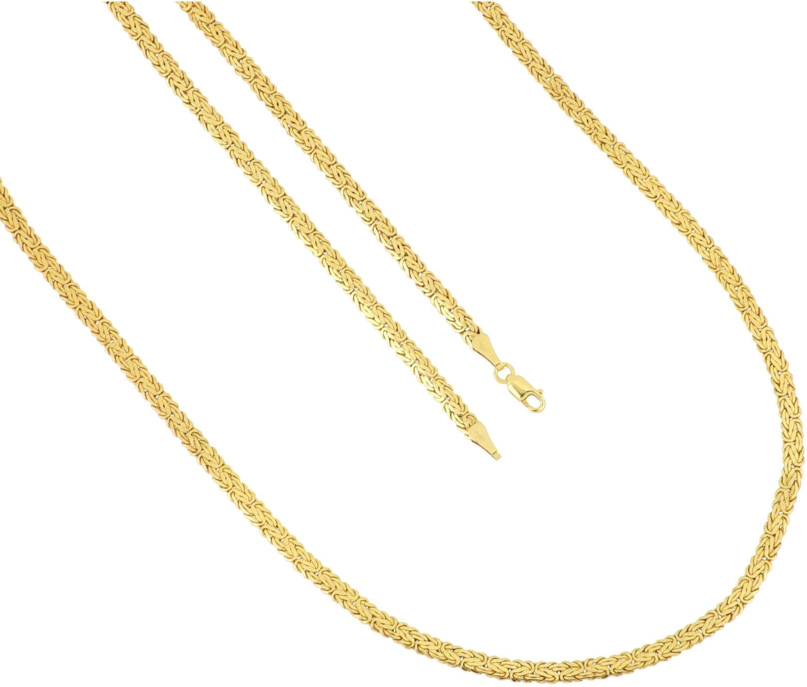 Firetti Königskette »einseitig bombiert, poliert« | Schmuck > Halsketten > Königsketten | Firetti