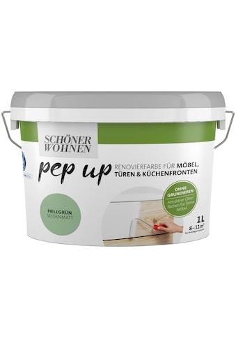 SCHÖNER WOHNEN-Kollektion Lack »pep up - hellgrün«, seidenmatt, für Möbel, Türen und... kaufen