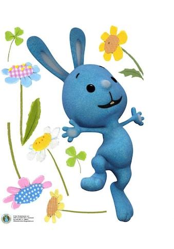 Wall - Art Wandtattoo »Kaninchen KiKANiNCHEN Blumen« (1 Stück) kaufen