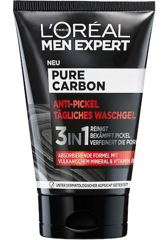 L'ORÉAL PARIS MEN EXPERT Gesichtsreinigungsgel »Pure Carbon Anti-Pickel« kaufen