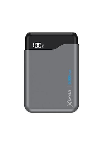 XLAYER Zusatzakku »Powerbank Micro PRO Space Grey 5000mAh Smartphones« kaufen