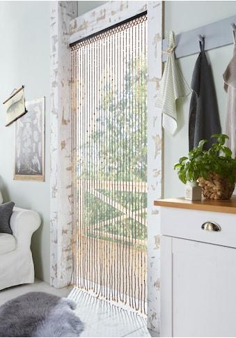 Türvorhang, »Sevilla«, Home affaire, Hakenaufhängung 1 Stück kaufen