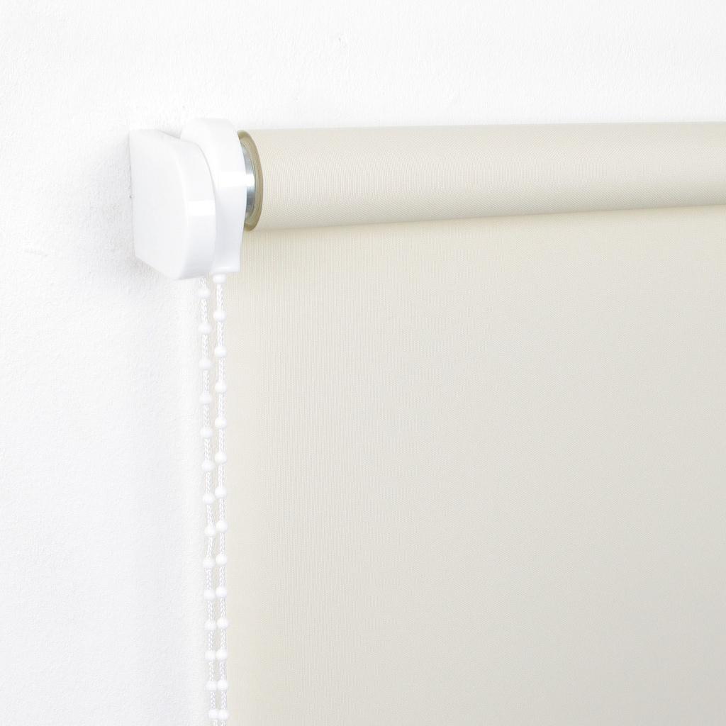 Liedeco Seitenzugrollo »Uni«, Lichtschutz, ohne Bohren