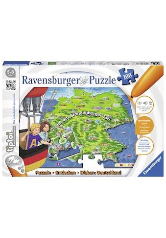 Ravensburger Puzzle »tiptoi® Puzzlen, Entdecken, Erleben: Deutschland«, Made in Germany, FSC® - schützt Wald - weltweit kaufen
