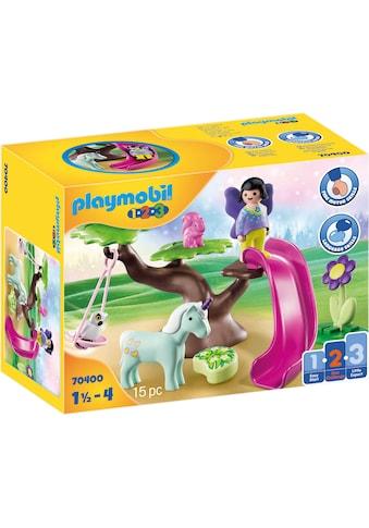 Playmobil® Konstruktions-Spielset »Feenspielplatz (70400), Playmobil 1-2-3«, (15 St.),... kaufen