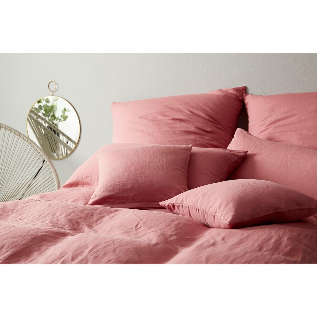 Elegante Bettwäsche »Breeze«, angenehmes Hautgefühl