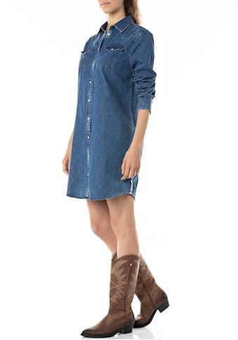 Replay Jeanskleid, Minikleid im Hemdblusenstyle kaufen