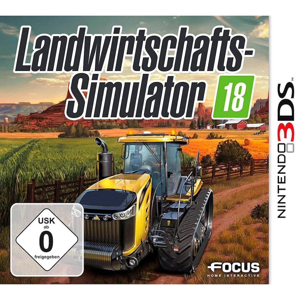 Spiel »LANDWIRTSCHAFTS SIMULATOR 18«, Nintendo 3DS, Software Pyramide