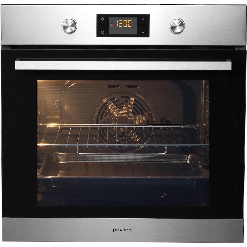 Privileg Backofen-Set »BAKO Turn&Cook 200«, PBWR6 OH5V IN, Hydrolyse, touchControl