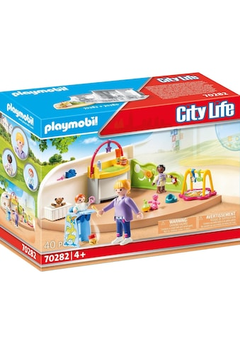 "Playmobil® Konstruktions - Spielset ""Krabbelgruppe (70282), City Life"" kaufen"