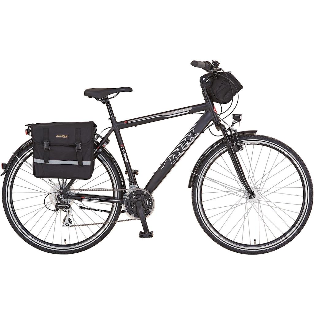 REX Bike Trekkingrad »Expedition«, 24 Gang, Shimano, Acera Schaltwerk, Kettenschaltung