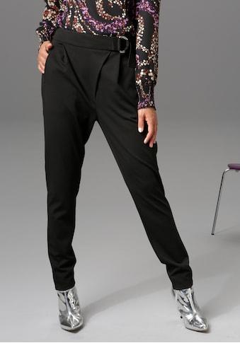 Aniston CASUAL Stoffhose, asymmetrisch geschnitten - NEUE KOLLEKTION kaufen