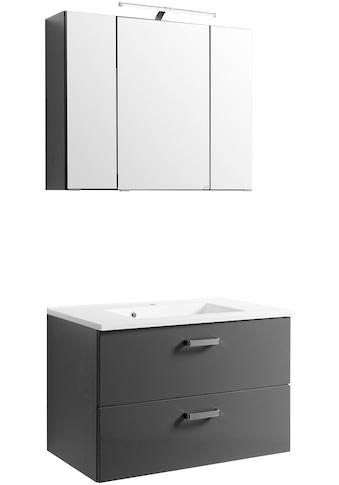 HELD MÖBEL Badmöbel - Set »Ancona«, Breite 80 cm, 2 - tlg. kaufen