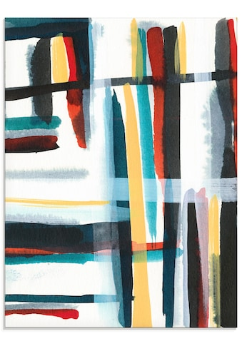 Artland Glasbild »Bücherregal I«, Muster, (1 St.) kaufen