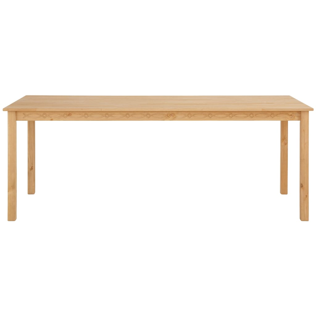 Home affaire Essgruppe »Indra«, (Set, 7 tlg.), Tisch 160 cm breit