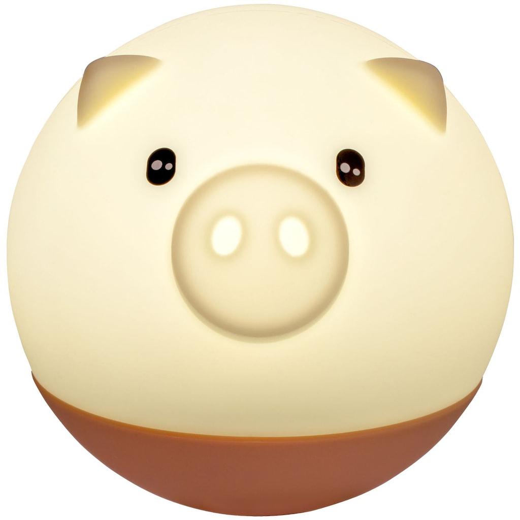 Pauleen Nachttischlampe »Good Night Pig«, 1 St., Warmweiß, Schwein