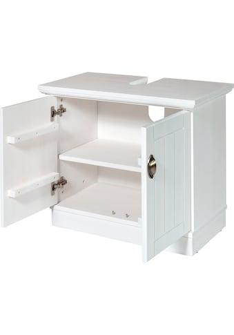Home affaire Waschbeckenunterschrank »Eva«, aus Kiefer massiv, Breite 72 cm kaufen