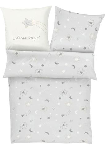 s.Oliver Junior Kinderbettwäsche »Sternenhimmel«, mit Stern- und Mondmuster kaufen