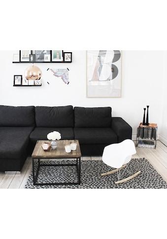Wooldot Wollteppich »Mixed Color«, rechteckig, 23 mm Höhe, Filzkugel-Teppich, reine Wolle, beidseitig verwendbar kaufen