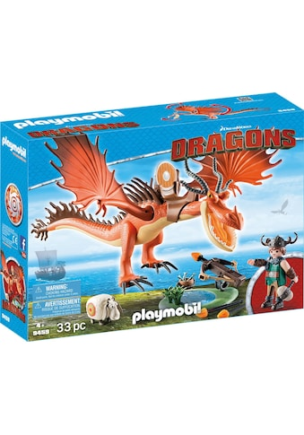 "Playmobil® Konstruktions - Spielset ""Rotzbakke und Hakenzahn (9459), Dragons"", Kunststoff kaufen"