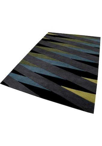 Teppich, »Lamella«, Esprit, rechteckig, Höhe 10 mm, handgetuftet kaufen