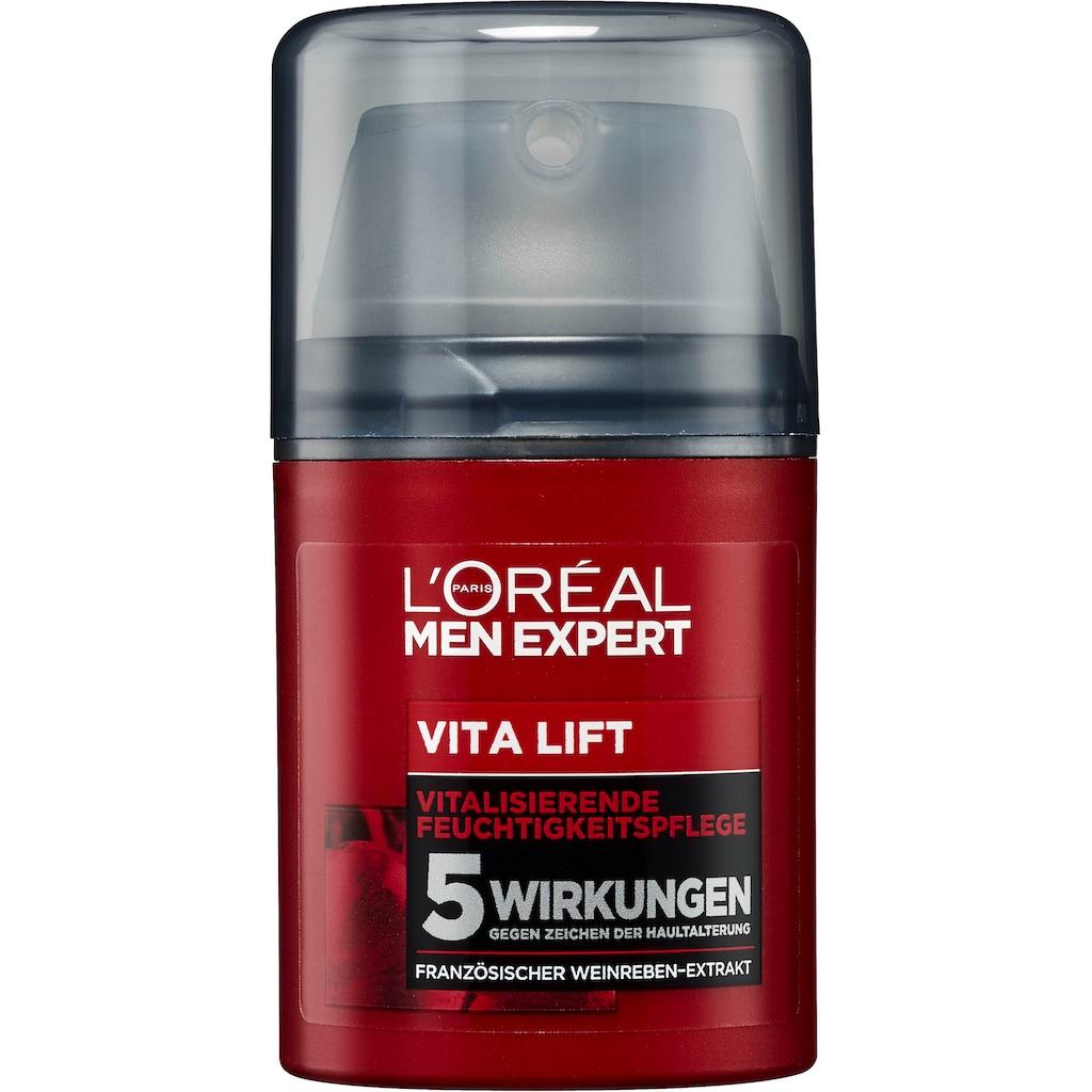 L'ORÉAL PARIS MEN EXPERT Pflege-Geschenkset »Vita Lift Geschenkset«, (3 tlg.), mit vitalisierender Feuchtigkeitspflege mit Anti-Aging Effekt