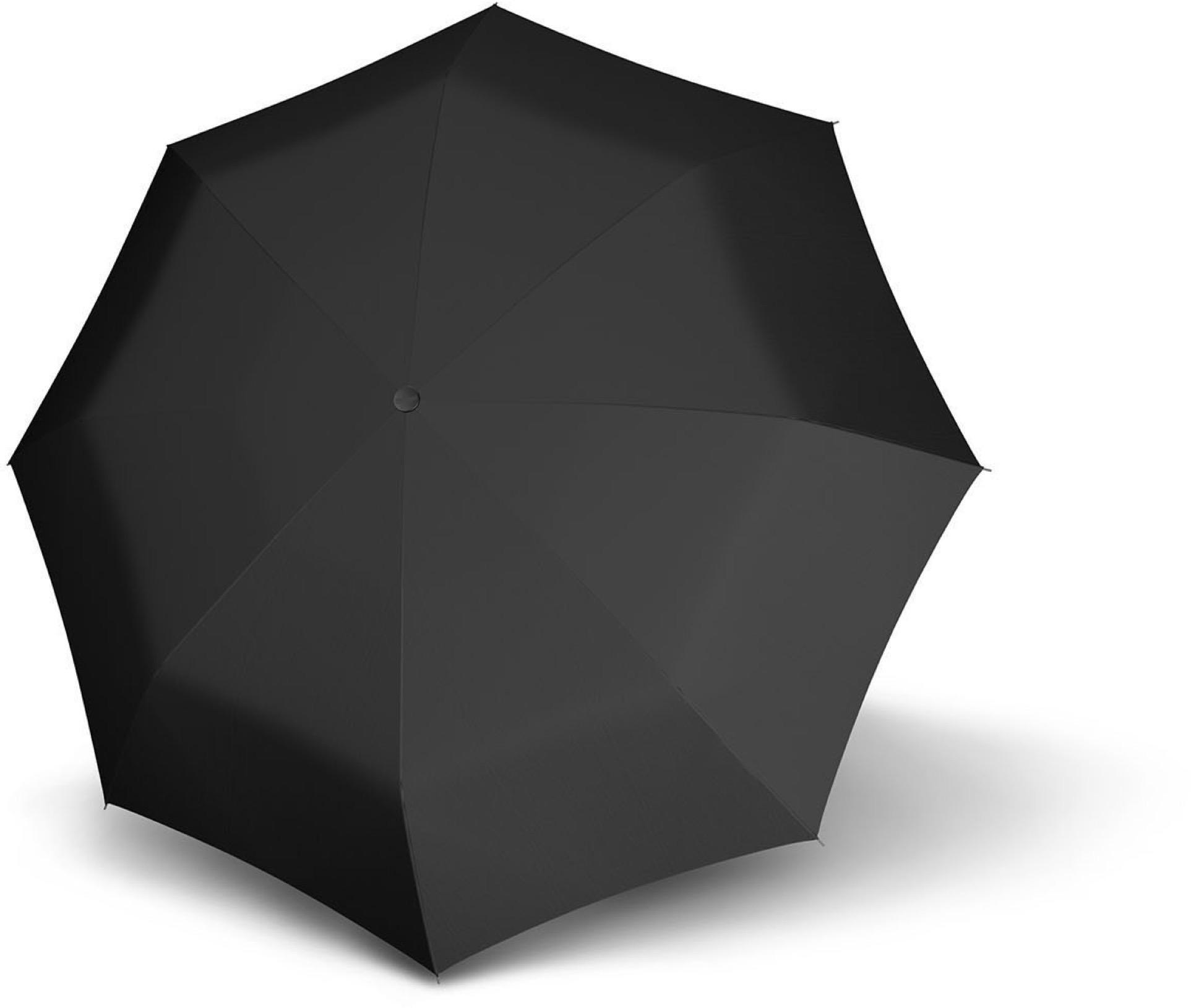 doppler®, Taschenregenschirm Carbonsteel Magic Uni, Black | Accessoires > Regenschirme > Sonstige Regenschirme | Schwarz | DOPPLER