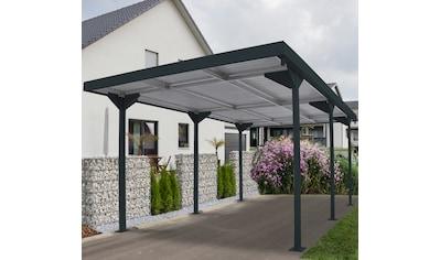 DURAMAX Einzelcarport »Car Shelter«, Aluminium, 255 cm, anthrazit kaufen