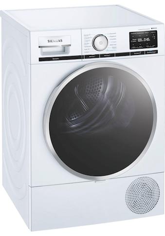 SIEMENS Wärmepumpentrockner iQ800 WT47XE40, 9 kg kaufen