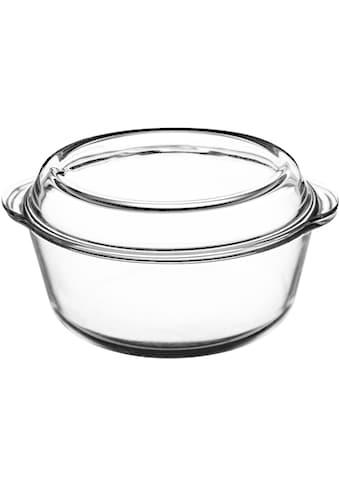 Mason Cash Auflaufform »Classic«, Borosilikatglas, rund, mit Deckel kaufen