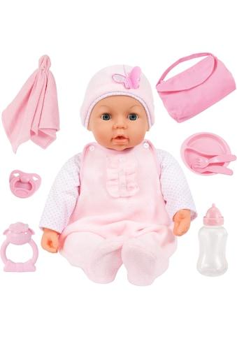 Bayer Babypuppe »Piccolina Magic Eyes, rosa«, (Set, 9 tlg.) kaufen