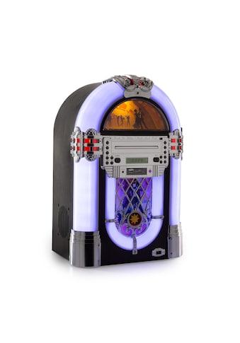 Auna Jukebox, BT, UKW-Radio, USB, SD, MP3, CD-Player kaufen