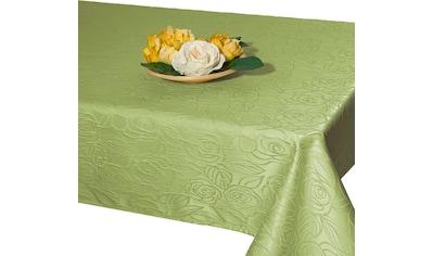 Delindo Lifestyle Tischdecke »ROSENZAUBER«, Druckdesign, Fleckschutz, 210 g/m² kaufen
