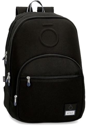 Enso Freizeitrucksack »Basic, schwarz« kaufen