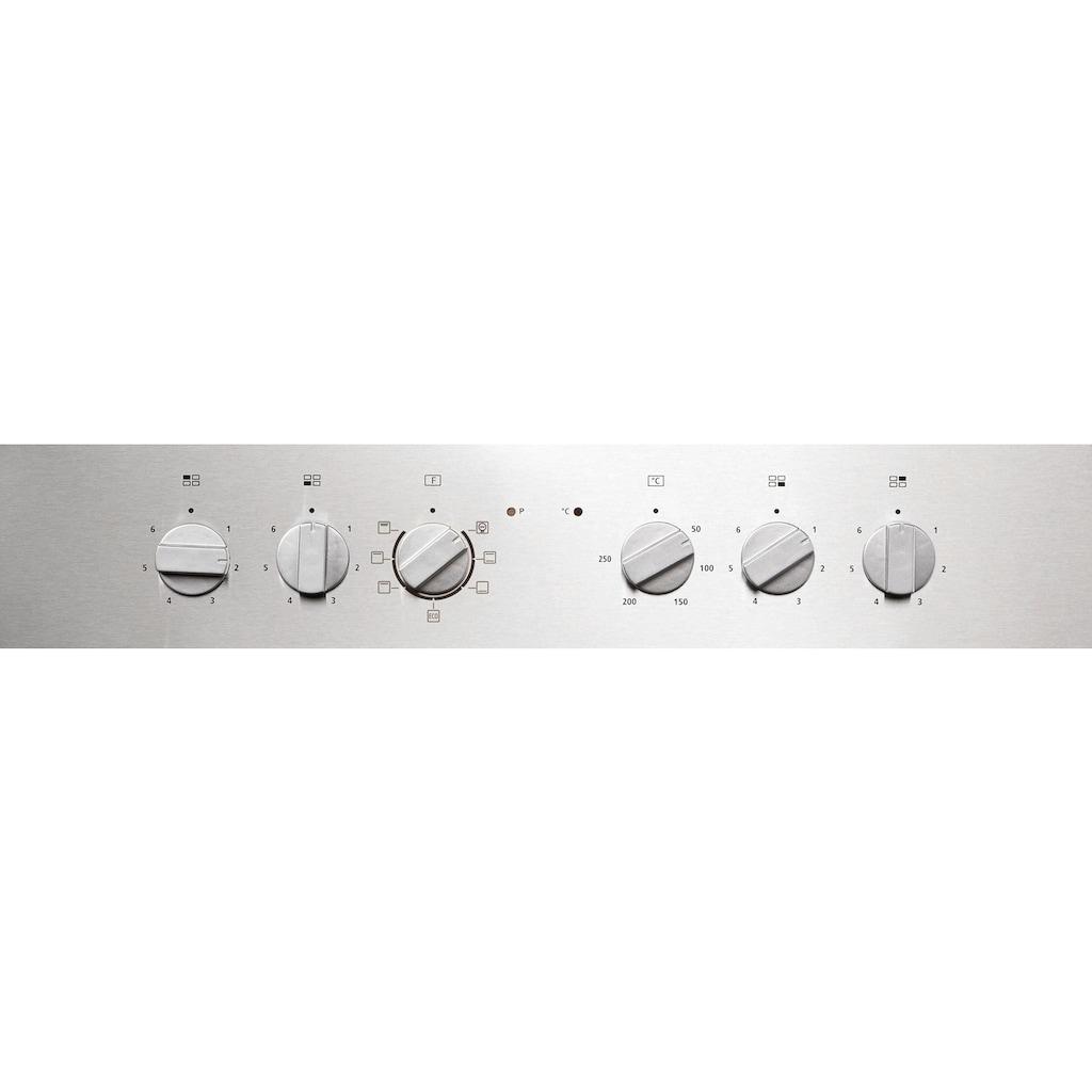 Hanseatic Elektro-Herd-Set »65C40C1-E11B04A/MC-HF605AG2«