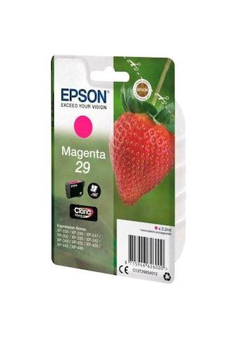 Epson Tintenpatrone »T2983, 29 Original Magenta C13T29834012« kaufen