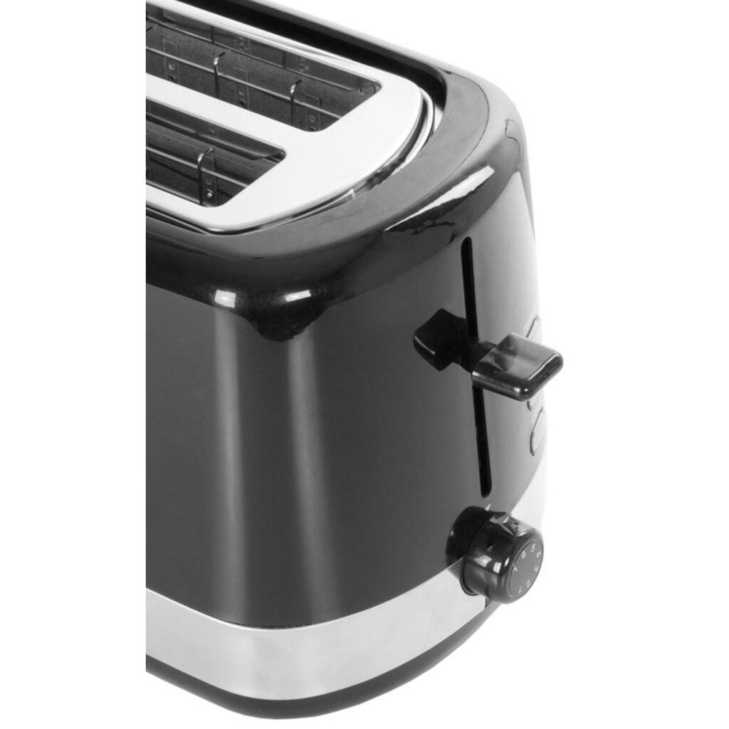 exquisit Toaster »TA 6101 swi«, 2 kurze Schlitze, 850 W