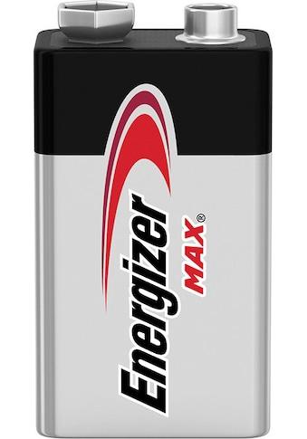 Energizer Batterie »Max E-Block 9V 3er Pack«, (Packung, 3 St.) kaufen