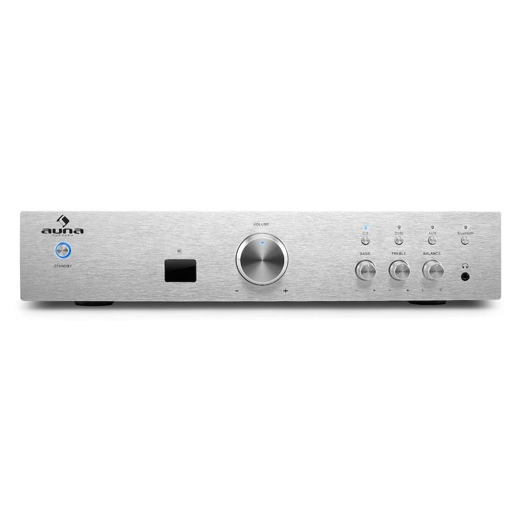 Auna HiFi Stereo Verstärker Einsteiger Endstufe 600W max. Bluetooth
