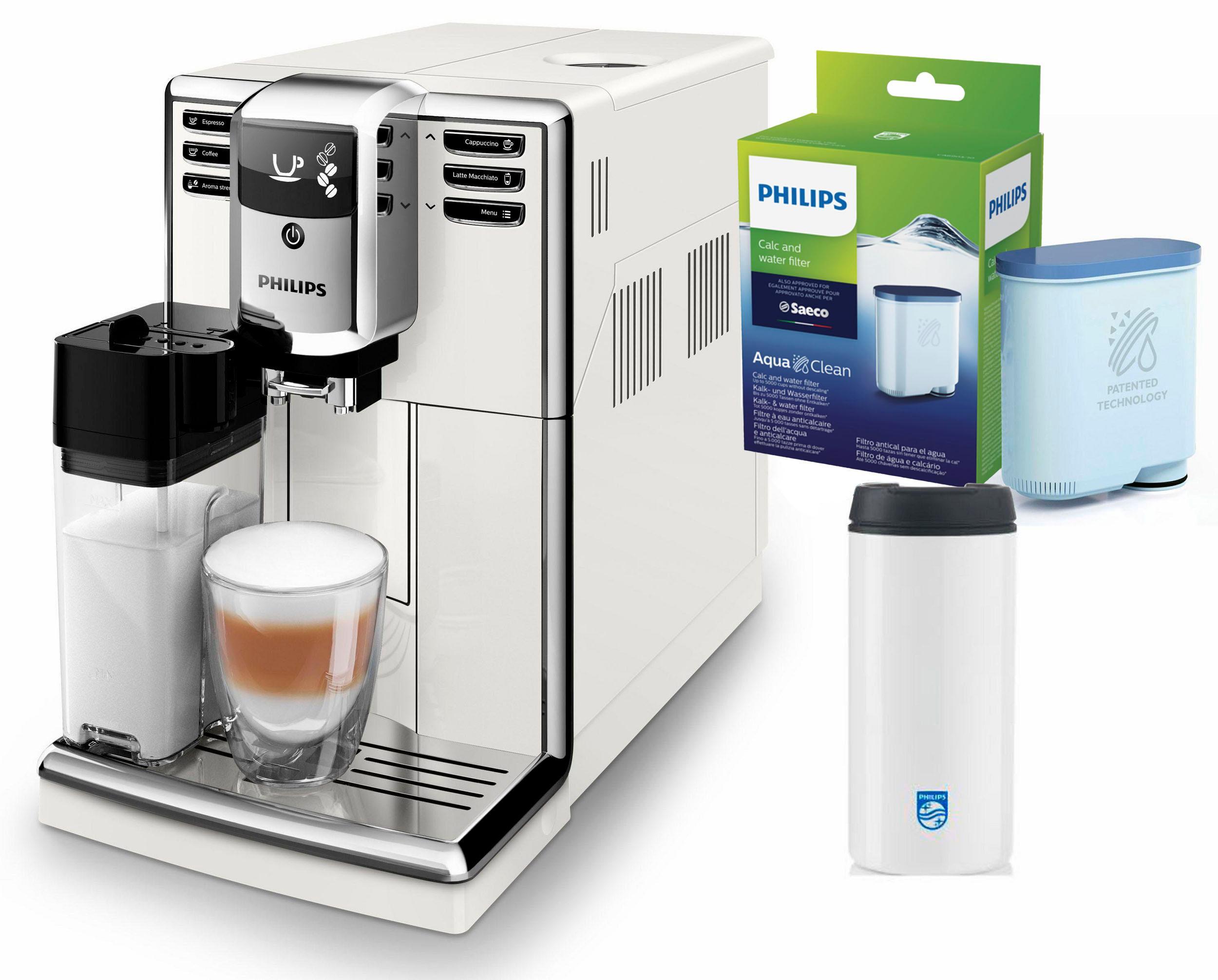 Philips Kaffeevollautomat 5000 Serie EP5961/10, 1, 8l Tank, Scheibenmahlwerk | Küche und Esszimmer > Kaffee und Tee > Kaffeevollautomaten | Philips