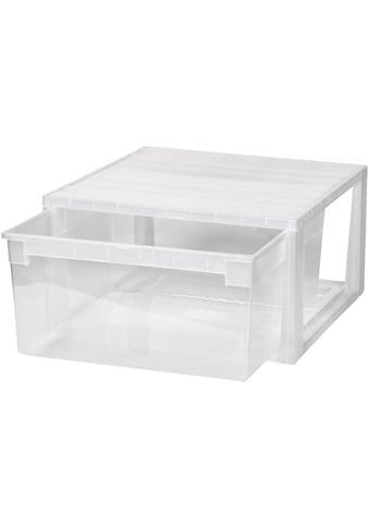 KREHER Aufbewahrungsbox »23 Liter, mit Schublade« kaufen