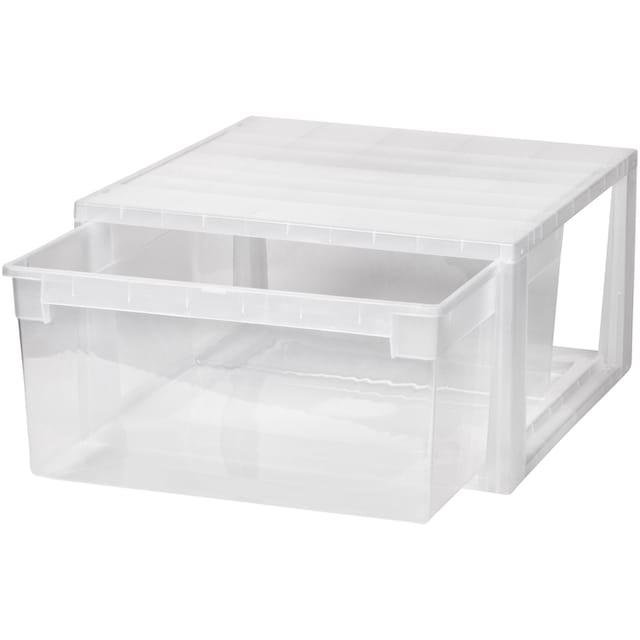 KREHER Aufbewahrungsbox »23 Liter, mit Schublade«