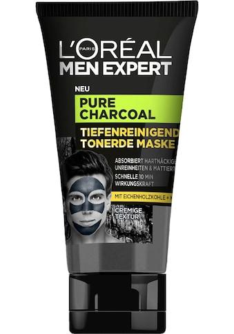 L'ORÉAL PARIS MEN EXPERT Gesichtsmaske »Pure Charcoal Tiefenreinigende Tonerde« kaufen