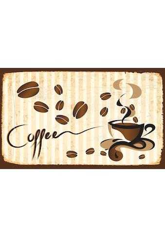 CONSALNET Vliestapete »Tassee Kaffee«, verschiedene Motivgrößen, für das Büro oder Wohnzimmer kaufen