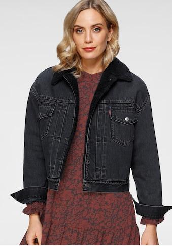Levi's® Jeansjacke »New Heritage Sherpa«, mit weichem Teddy-Futter kaufen